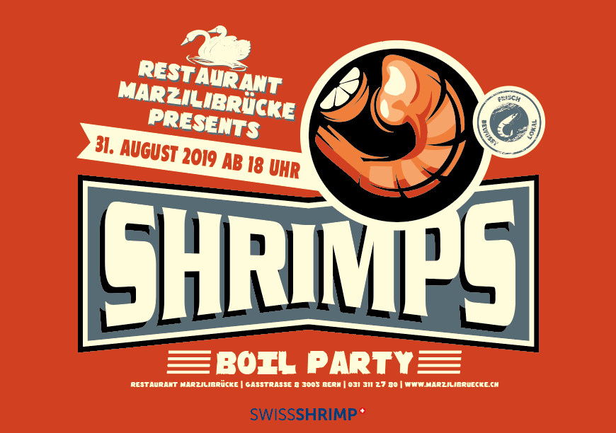 Swiss Shrimp Party